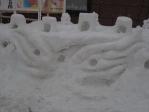 小樽聖十字教会 雪あかり