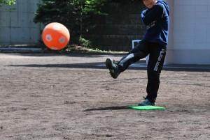 2012 キッズアワー キックベースボール